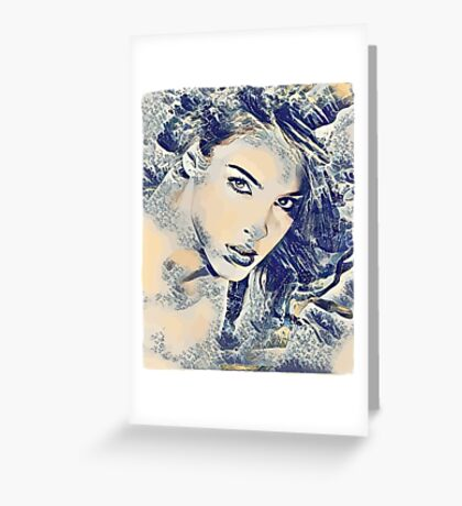 Goddess of the Sea Greeting Card