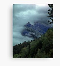 Window in the Clouds Canvas Print