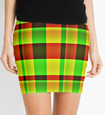IT'S TARTAN ...  PENCIL SKIRTS, SCARVES AND LEGGINGS Mini Skirt