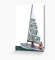 Tommy Boy - Boat Greeting Card