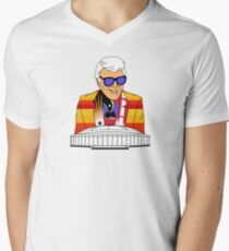Marvin Zindler Houston Sports Men's V-Neck T-Shirt