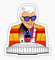 Marvin Zindler Houston Sports Sticker