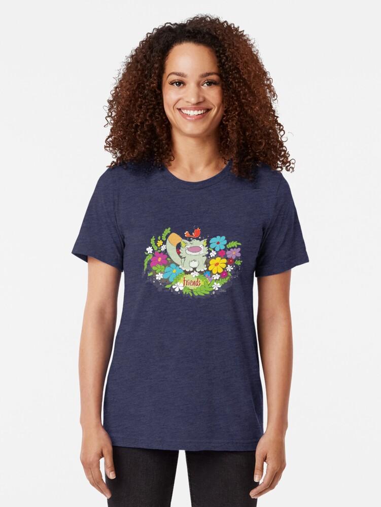 Alternate view of Friends Tri-blend T-Shirt