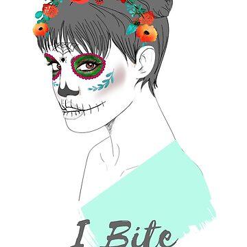 Halloween Zombie   I Bite by PureCreations
