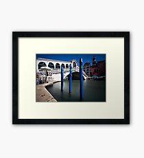 Rialto Bridge Framed Print