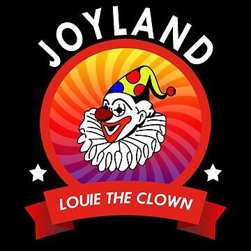 Louie the clown - Joyland Wichita Kansas  by jcaladolopes