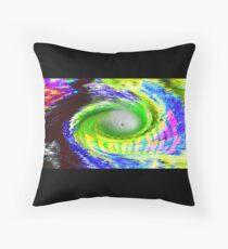 Hurricane Florence Throw Pillow