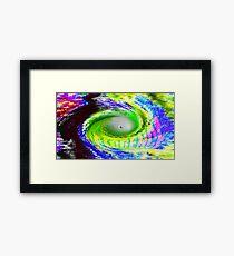 Hurricane Florence Framed Print