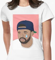 Crying Drake Women's Fitted T-Shirt