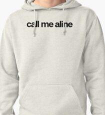 Appelez-moi Aline - Cool Stickers personnalisés Sweat à capuche