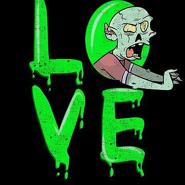 Halloween Love Zombie by donpakito