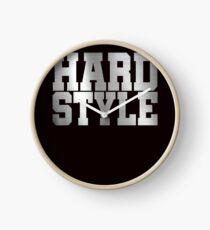 Hard Style Clock