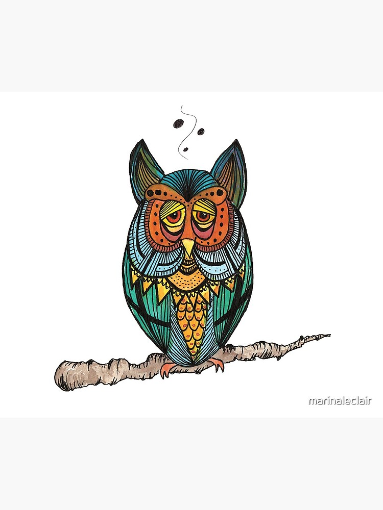 Night Owl by marinaleclair