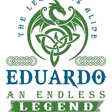 Legend T-shirt - Legend Shirt - Legend Tee - EDUARDO An Endless Legend by wantneedlove