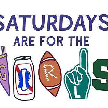 MSU Saturdays by channingsmith