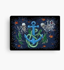 serpent of the sea Canvas Print