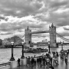 Ominous skies over Tower bridge  by KesiaHosking