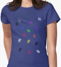 NEW PENCIL SKIRTS DESIGNED BY COLLEEN2012 THINKING  ...  OUTSIDE THE BOX! Women's Fitted T-Shirt