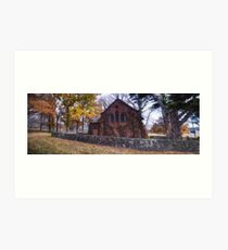 All Saints Church - Gostwyck NSW - The HDR Experience Art Print