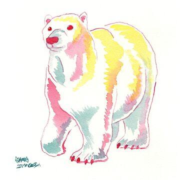 Polar Bear by jojoseames