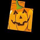 Pumpkin Halloween Outfit Shirt Utah Cute Halloween by shoppzee