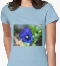 Violet for spring.  Women's Fitted T-Shirt