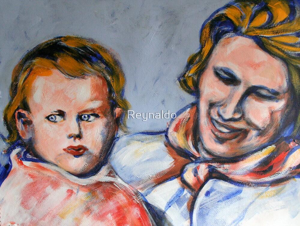 Motherhood......Baby Anthea and Mum by Reynaldo