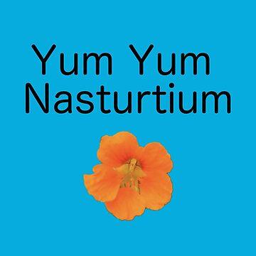Yum Yum Nasturtium by alittlebluesky
