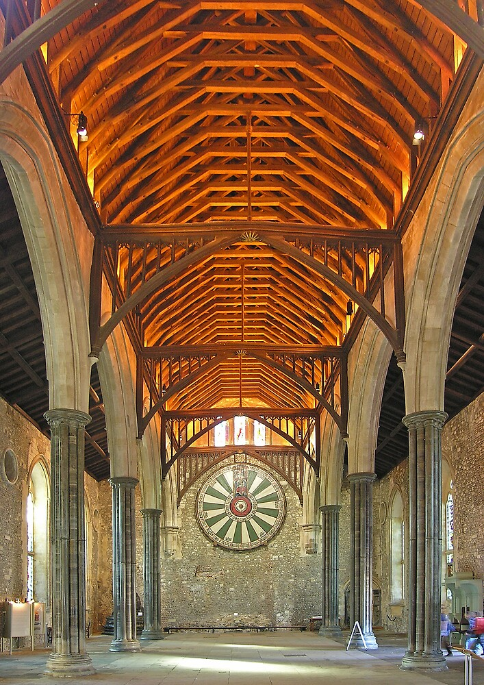 Quot The Great Hall Winchester Castle Southern England Quot By