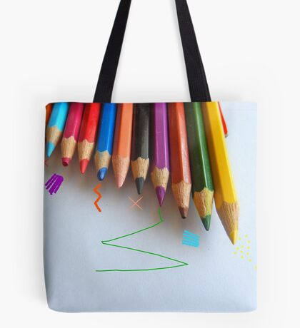 NEW PENCIL SKIRTS DESIGNED BY COLLEEN2012 THINKING  ...  OUTSIDE THE BOX! Tote Bag