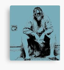Big Lebowski Thinking Canvas Print
