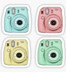 Polaroid cameras Sticker