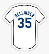 Cody Bellinger Jersey Sticker