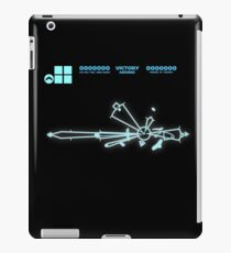 """Evacuate? in our moment of triumph"" iPad Case/Skin"