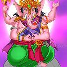 Lord Ganesh - Master of Wisdom by jazylhart