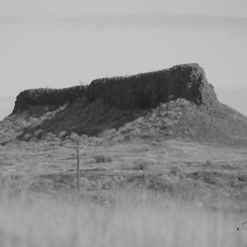 Shiprock mountain by moregoodart