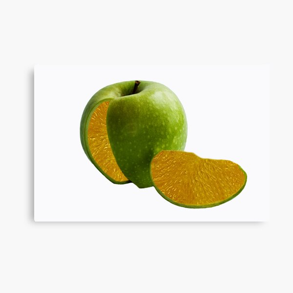 Comparing Apples and Oranges Canvas Print