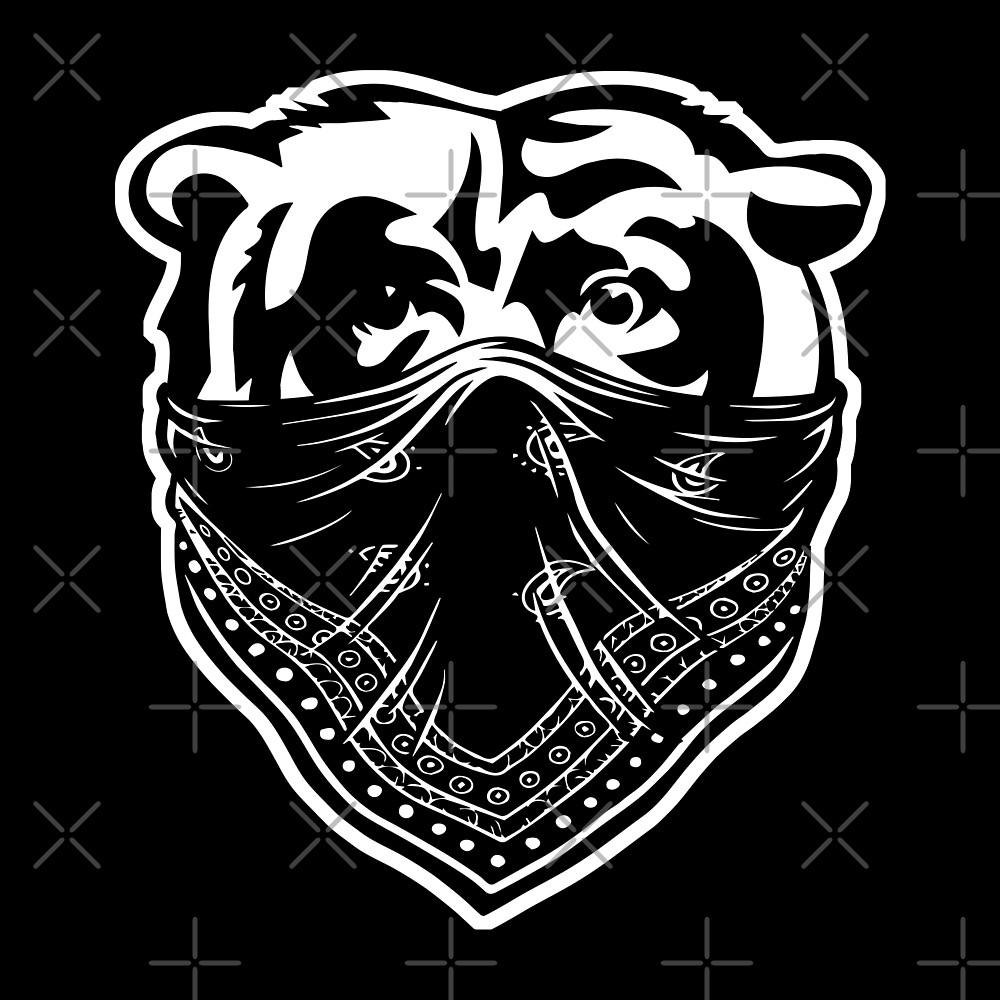 Bandana Bear™ by superlitmerch