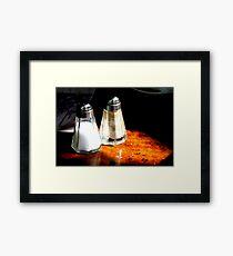 Cafe Daleks Framed Print