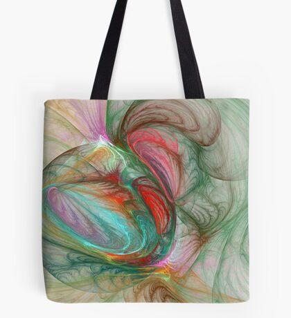 Marblized Tote Bag