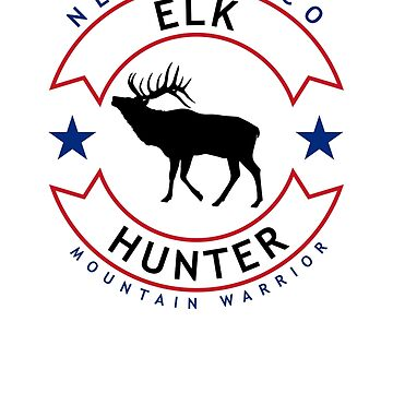 New Mexico Elk Hunter, Freedom Edition by bgcreative