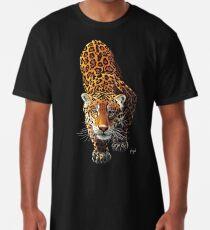 Anpirschender Leopard Longshirt