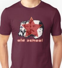 MARX ENGELS LENIN OLD SCHOOL  Slim Fit T-Shirt