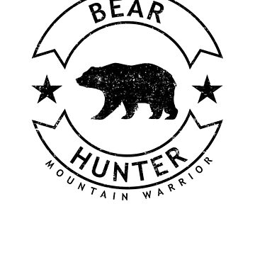 Oregon Bear Hunter, Distressed by bgcreative