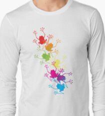 Rainbow Frogs Long Sleeve T-Shirt