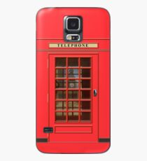British Red Phone box with Big Ben Case/Skin for Samsung Galaxy