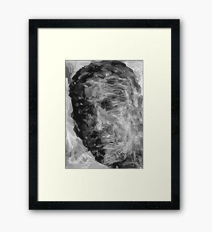 The Sleeping Giant  Framed Print