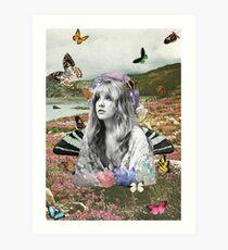 My Divinity: Stevie Nicks Art Print