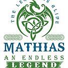Legend T-shirt - Legend Shirt - Legend Tee - MATHIAS An Endless Legend by wantneedlove