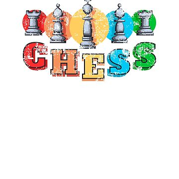 Vintage Chess by TeeTimeGuys